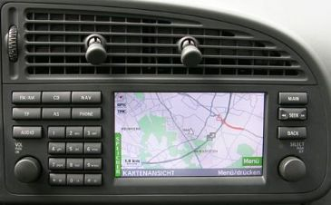 DVD SAAB 93 SDAL navigation Map update disc